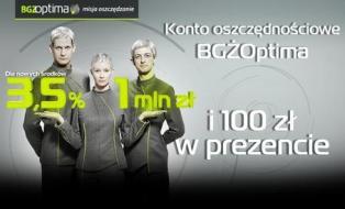 100 zł za otwarcie Konta Oszczędnościowego