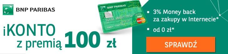 ikonto z premią 100 zł