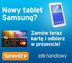 Karta Kredytowa Tablet citibank samsung strona