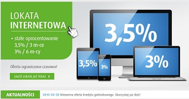lokata internetowa plus bank