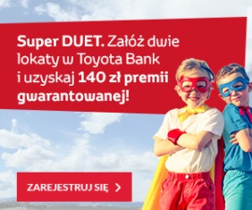 super duet lokata toyota bank