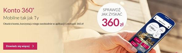 Konto 360 premia Bank millennium zyskaj 360