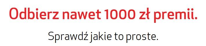 1000 zł premii od Credit Agricole konto promocja płatności rachunki