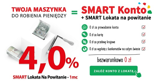 bank smart - smart lokata na powitanie wrzesień 2015