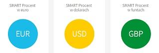 smart procent październik 2015 konta oszczędnościowe bank smart