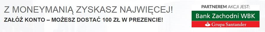 konto godne polecenia z premią 100 zł money mania 3 promocja nowe