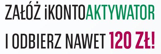 konto plus premia II ikontoaktywator z premią 120 BGŻ BNP Paribas