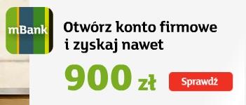 900 zł na ZUS mbank mbiznes premia 900 zł