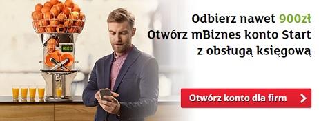 900 zł na ZUS mbank