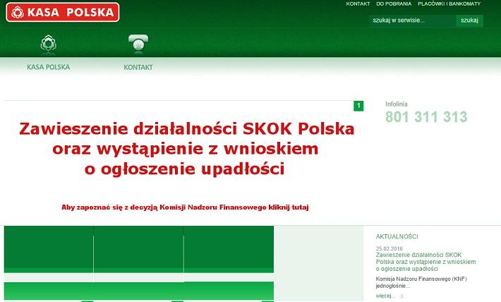 upadłość SKOK Polska bfg