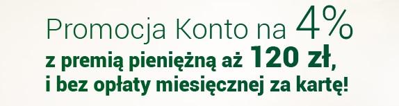 Premia 120 zł za Konto Godne Polecenia