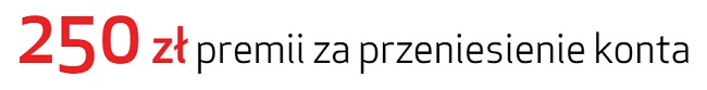 250 zł i 100 zl za przeniesienie konta w Credit Agricole promocja