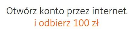 100 zł za otwarcie konta w ING Banku Śląskim