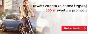 500 zł za ekonto mbank warunki