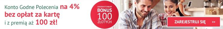 premia 100 zł za konto godne polecenia bz wbk