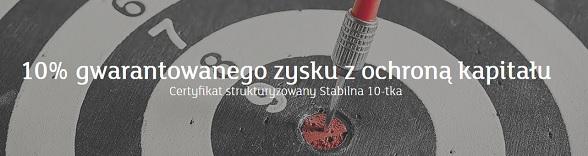 produkt strukturyzowany stabilna 10-tka mbank