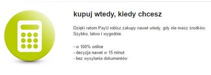 Prawdziwe Raty PayU 0% na Allegro