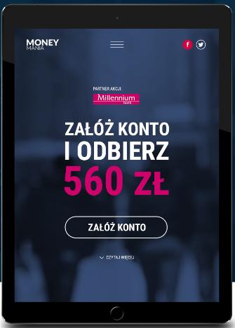 100 zł + 100 zł + 360 zł za Konto 360º