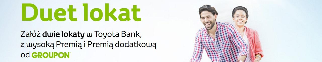 Duet Lokat z premią dodatkową na Groupon