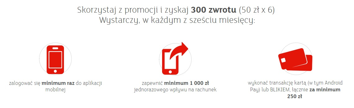 350 zł za konto w mBanku