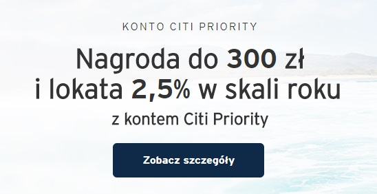 300 zł za konto w Citibanku