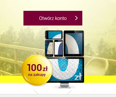 Darmowe Konto Internetowe z premią 100 zł