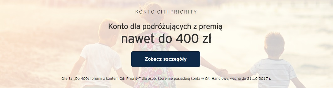 400 zł premii za konto osobiste