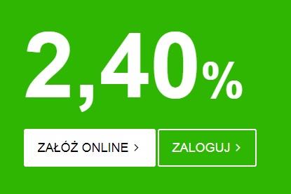 Lokata na 2,40%