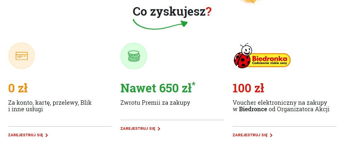 100 zł do biedronki