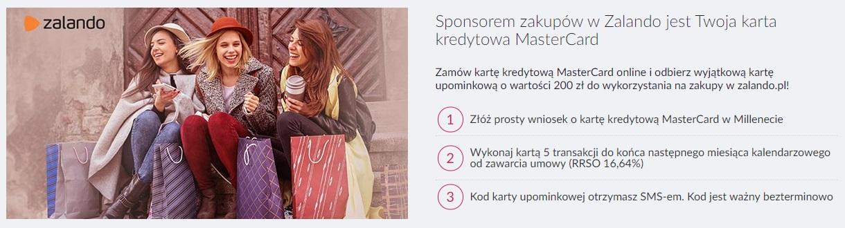 200 zł premii za kartę kredytową