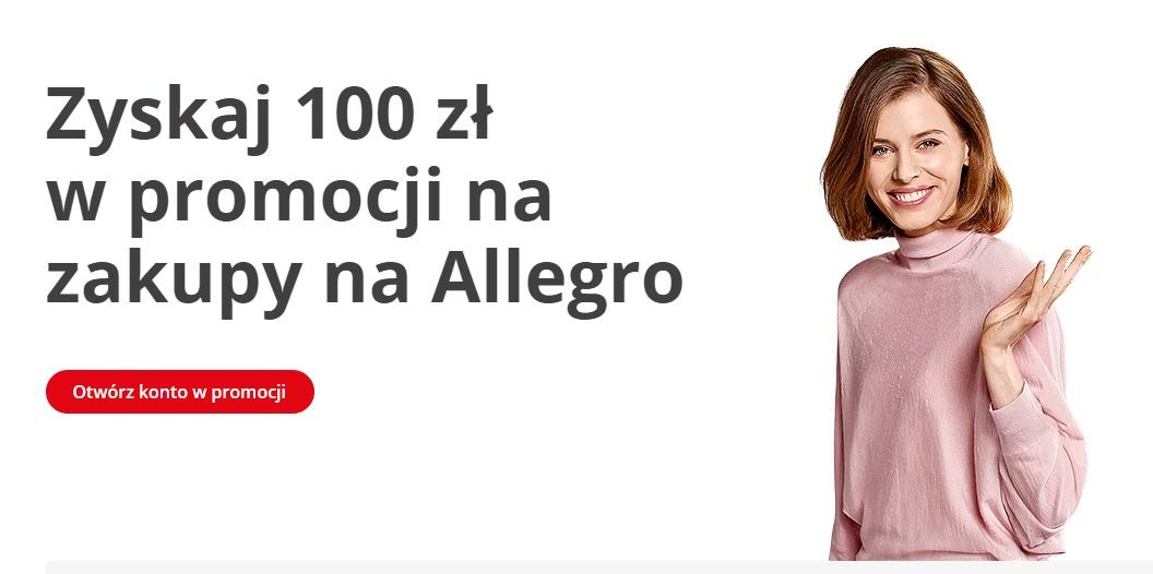 100 zł na Allegro za Konto Jakie Chcę