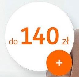 140 zł za konto w ING