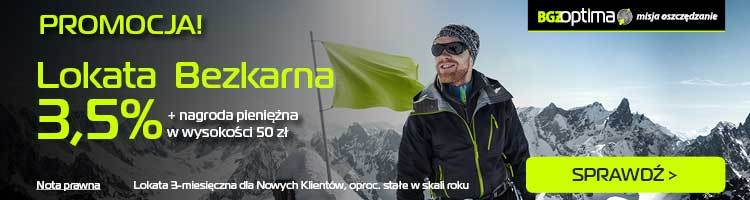 50 zł za Lokatę Bezkarną