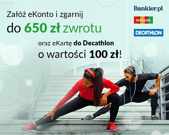 kupon do Decathlonu na 100 zł