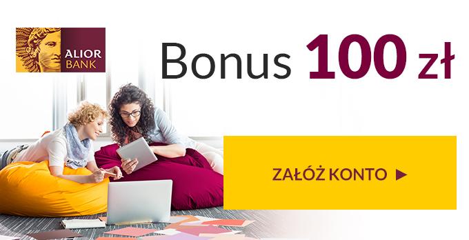 100 zł za Konto Jakże Osobiste Alior Bank