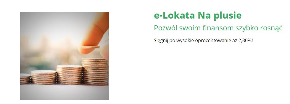 e-Lokata Na Plusie BOŚ Bank
