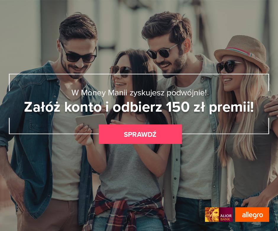 150 zł za Konto Jakże Osobiste w Alior Banku