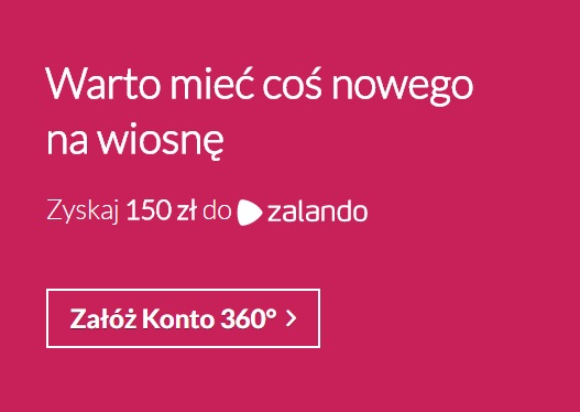 150 zł za Konto 360º w Banku Millennium