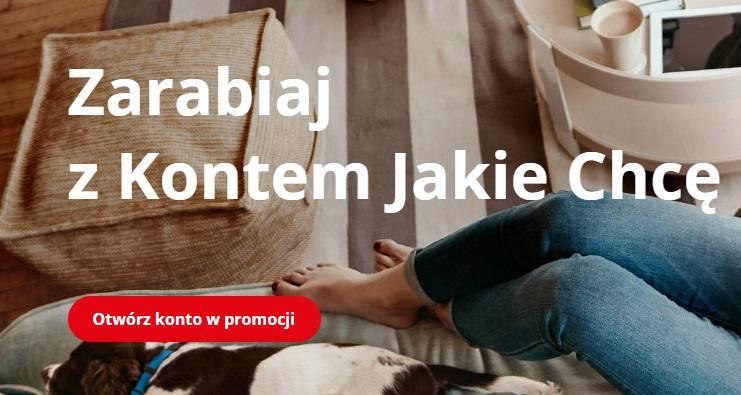 150 zł za Konto Jakie Chcę oraz 300 zł za przelewanie wynagrodzenia i 2,70% na Koncie Oszczędnościowym w BZ WBK