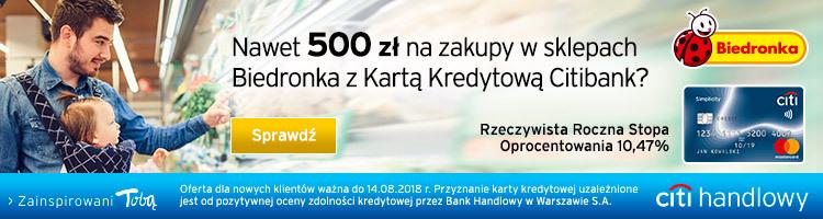 Voucher na 300 zł do CityFit za karte kredytową w Citibanku