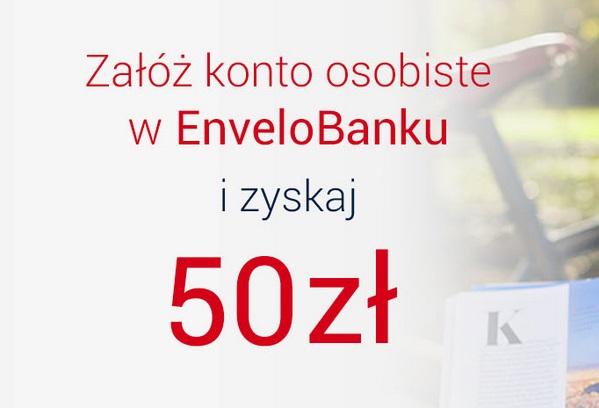 EnveloKonto z premią 50 zł envelobank