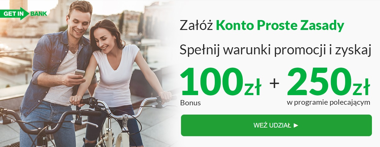 100 zł za Konto Proste Zasady