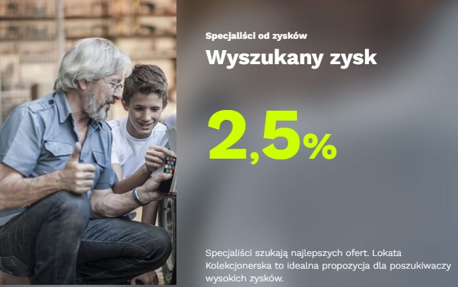 lokata kolekcjonerska bgż Optima 2,50