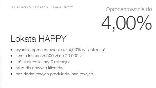 Lokata Happy
