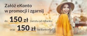 300 zł za eKonto w mBanku