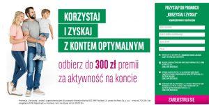 Ponownie 300 zł za konto osobiste w BGŻ BNP Paribas