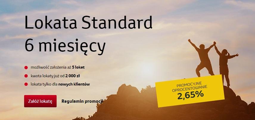 Październikowa Lokata Standard na 2,65% dla nowych klientów w Toyota Banku