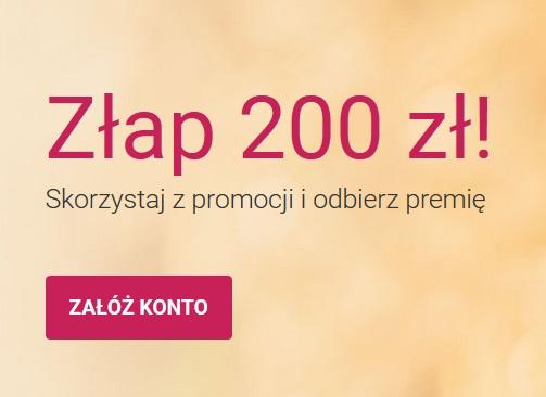 Złap 200 zł czyli ponownie premia 200 zł za konto osobiste w Banku Millennium
