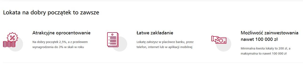 Lokata na dobry dobry początek na 3% do 100.000 zł w Eurobanku