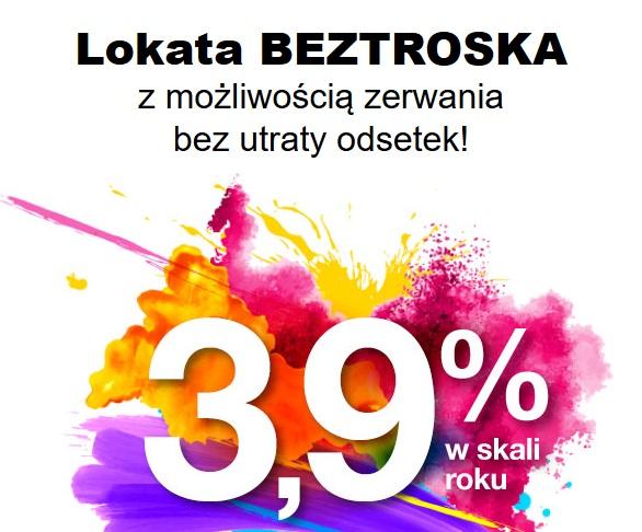 Lokata na 3,90% w Idea Banku